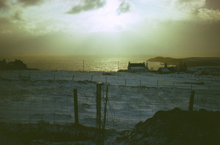 A winter view over the Minch
